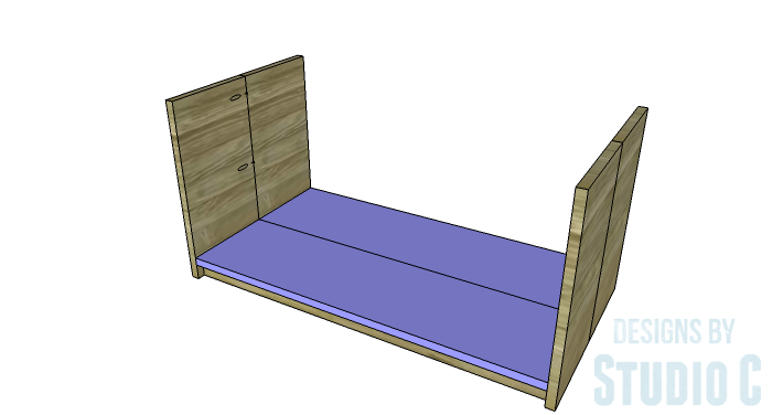 DIY Furniture Plans to Build an Easy Storage Bench-Shelf
