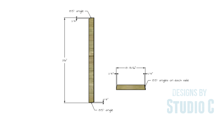 DIY Furniture Plans to Build a Truss-Leg Dining Table-Leg Assembly 1