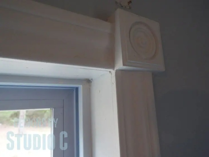 Tips to Install, Finish and Paint Trim and Casing - Corner Block Join