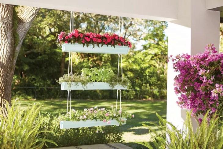 Hanging Gutter Planter