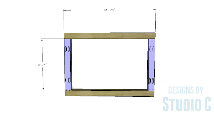 DIY Furniture Plans to Build a Coffee Table with Slide-Out Extensions - Ottoman Frames