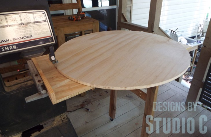 An Easy To Build Round Table Designs By Studio C