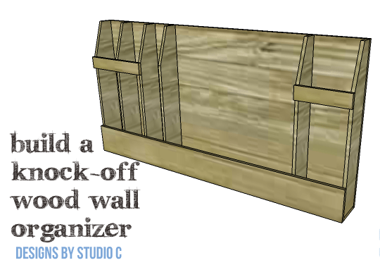 DIY Knock-Off Wood Wall Organizer - Copy