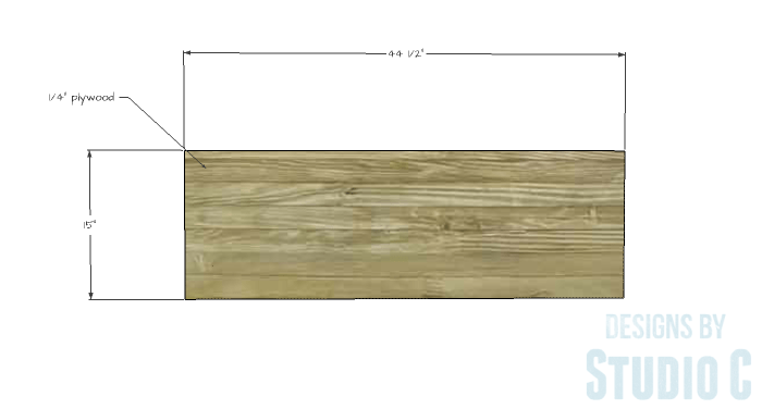 Free Furniture Plans to Build a DIY Ikea Inspired Malm Twin Bed - footboard-2
