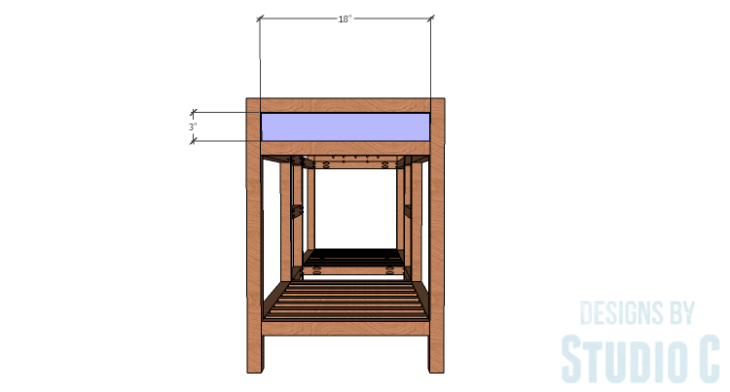 DIY furniture plans to build a Cuszco Console Table_Side Panels