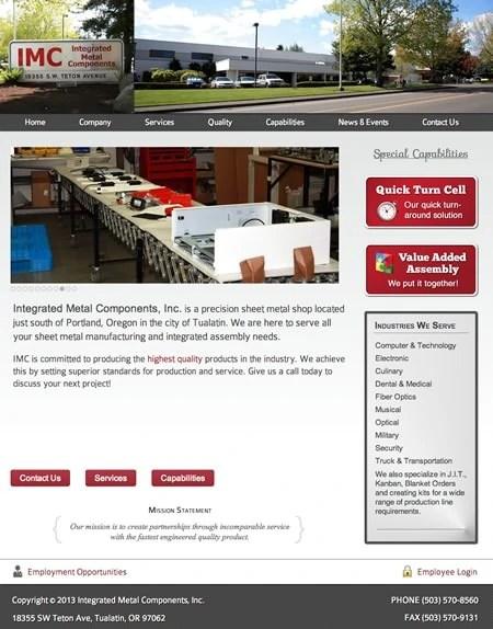 more web design samples
