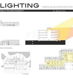 check this example of a building section with sunlight analysis  [ 2592 x 1728 Pixel ]