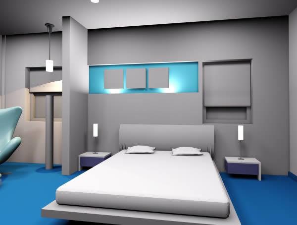 Bedroom Interior 3d 3ds Model For 3d Studio Max Designs Cad