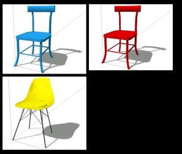 chair design sketchup clear dining chairs set of 4 3d skp model for designs cad advertisement