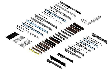 Handrails 3D RVT Model for Revit • Designs CAD