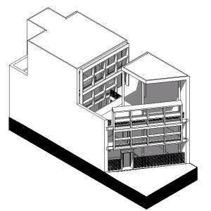 House Curutchet 3D RVT Model for Revit
