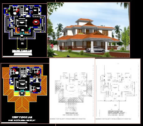 Nalukettu DWG Elevation for AutoCAD  Designs CAD