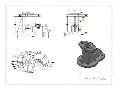 Mechanical Peiza 3D DWG Model for AutoCAD • Designs CAD