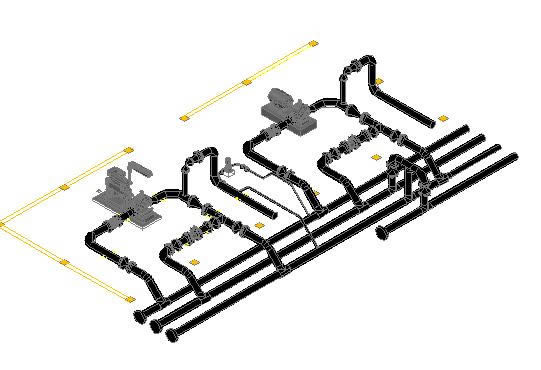 System Against Fire DWG Block for AutoCAD • Designs CAD