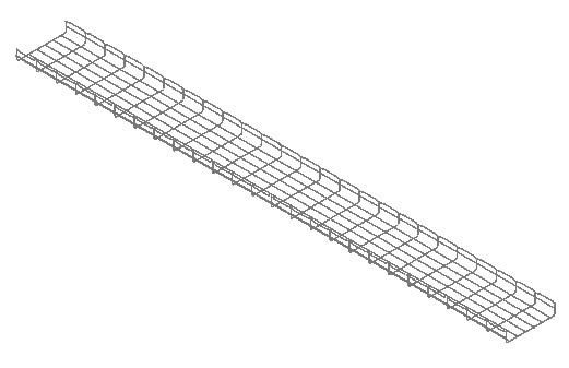 Steel Cable Tray Power And Voice DWG Block for AutoCAD