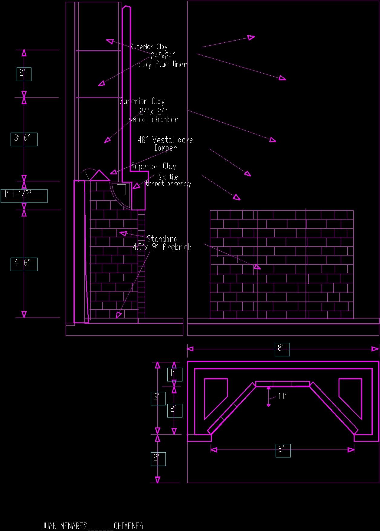 Chimneys DWG Block for AutoCAD  Designs CAD