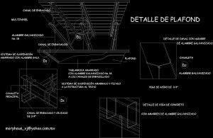 Detail Suspended Ceiling In Isometric DWG Detail for AutoCAD – Designs CAD