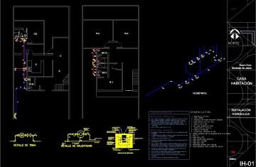 Residential Plumbing Diagram Symbols   Licensed HVAC and
