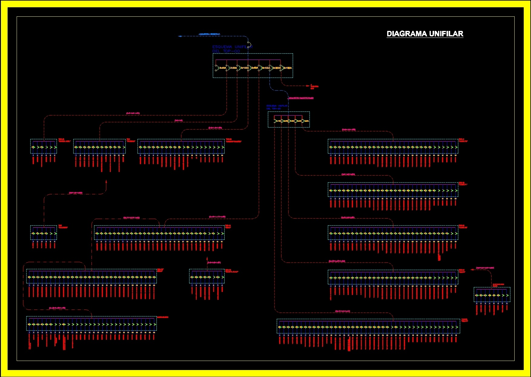 single line diagram autocad electrical jazzmaster wiring dwg block for  designs cad