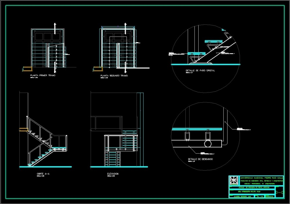 medium resolution of crystal stair details dwg detail for autocad u2022 designs cad parts of a stairwell diagram of crystal stairs