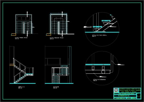 small resolution of crystal stair details dwg detail for autocad u2022 designs cad parts of a stairwell diagram of crystal stairs
