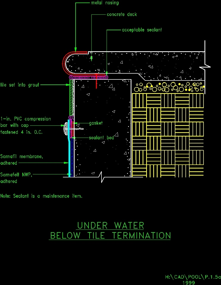Detalle Piscina DWG Block for AutoCAD  Designs CAD