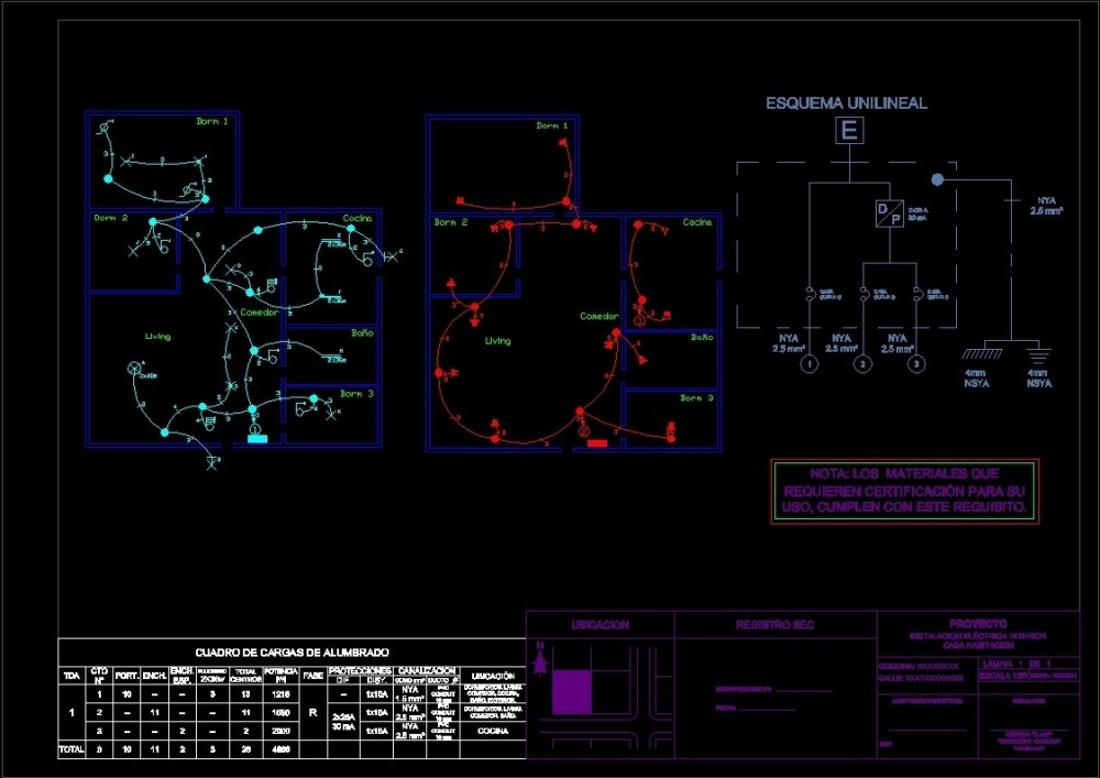 medium resolution of 70 m2 house electrical plan dwg plan for autocad designs cad file type dwg