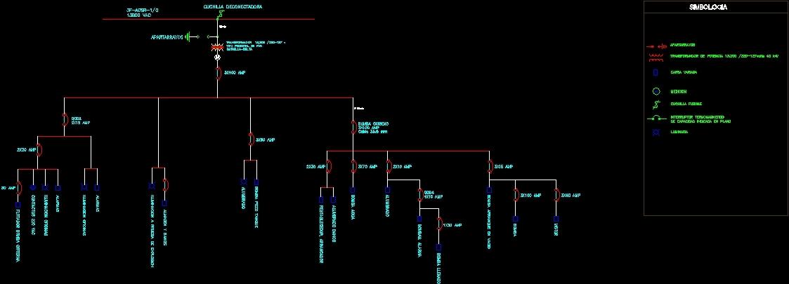 Basic Hvac Electric Wiring Single Line Diagram Dwg Block For Autocad Designs Cad