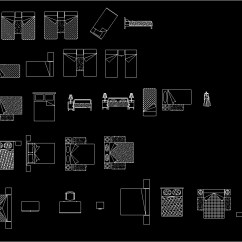 Bedroom Chair Cad Block Rio Brands Beach Chairs Uk Accessories Bedrooms Beds Dwg For Autocad