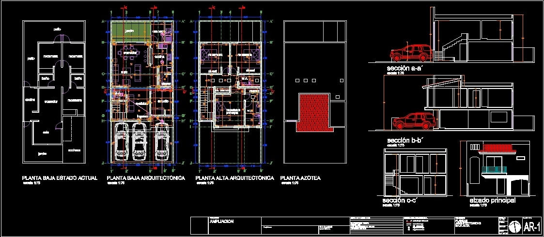 House Extension DWG Block for AutoCAD  Designs CAD