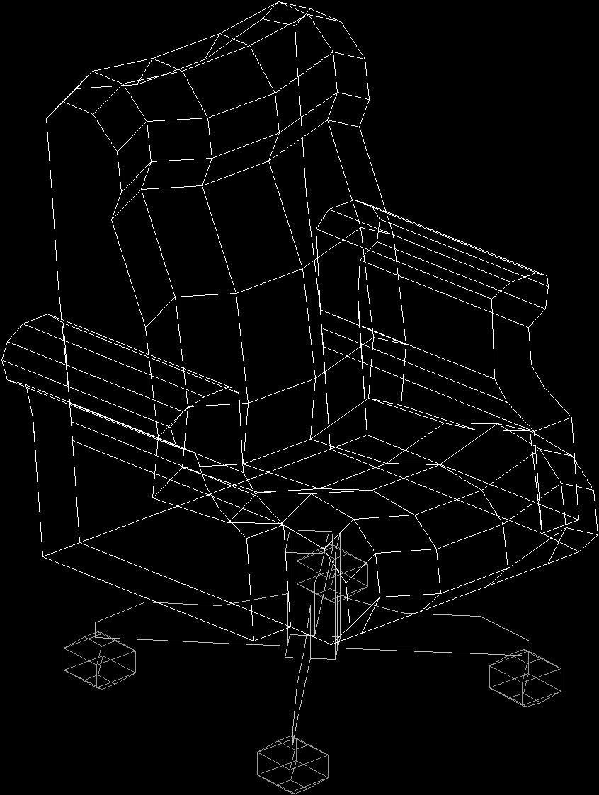 Acapulco Chair Dwg