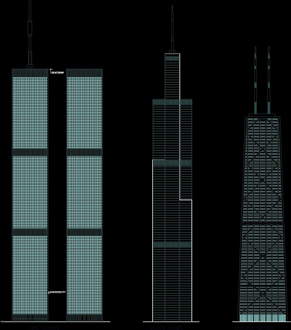Skyscraper DWG Elevation For AutoCAD Designs CAD