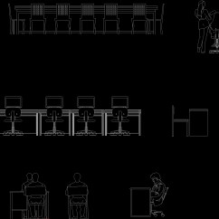 Office Chair Cad Block Hobby Lobby Table And Chairs Furniture 2d Dwg Elevation For Autocad  Designs