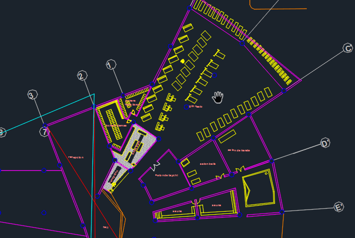 Yatch Club 2D DWG Design Section for AutoCAD  Designs CAD