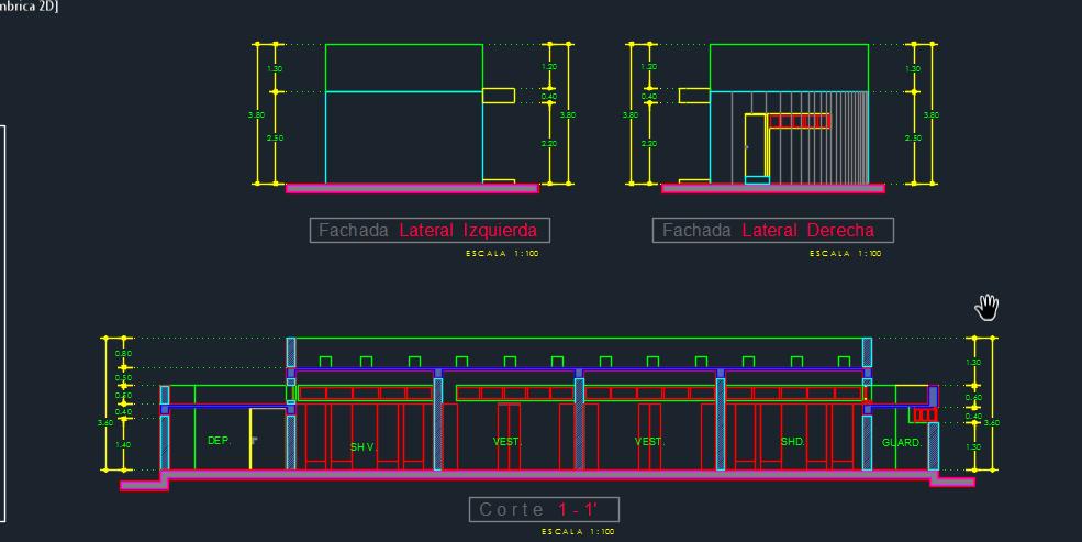 Service Kiosk 2D DWG Design Section for AutoCAD  Designs CAD