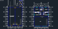 Modern Museum 2D DWG Design Section for AutoCAD  Designs CAD
