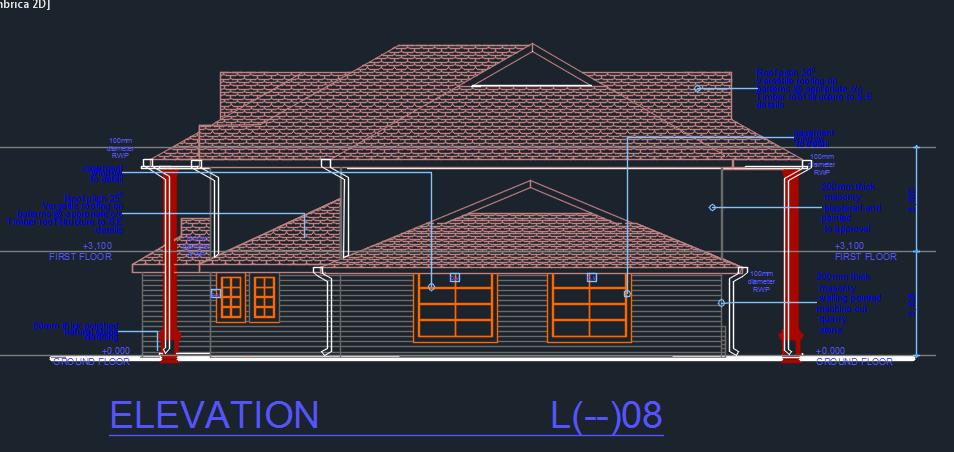 Business Center 2D DWG Design Elevation for AutoCAD  Designs CAD