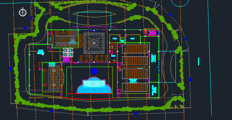 Luxury Hotel 2d Dwg Design Plan For Autocad Designs Cad