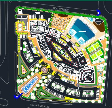 5 Stars Hotel Floor Plans 2D DWG Design Section for