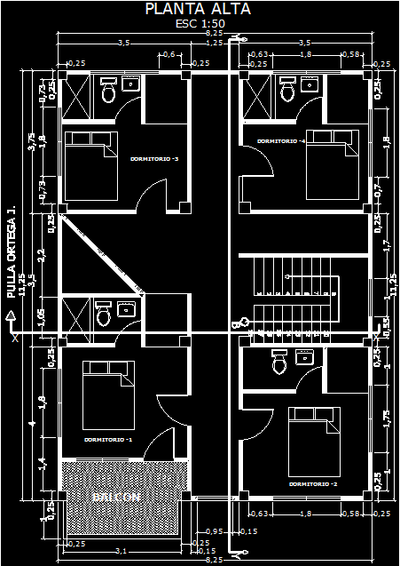 TwoStorey House 2D DWG Plan for AutoCAD  Designs CAD