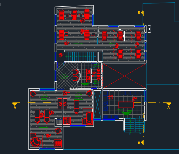 Luxury Spa 2D DWG Design Section For AutoCAD Designs CAD