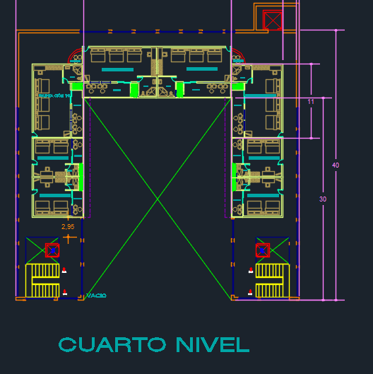 Spa Hotel With Gym And Restaurant 2D DWG Design Plan for AutoCAD  Designs CAD