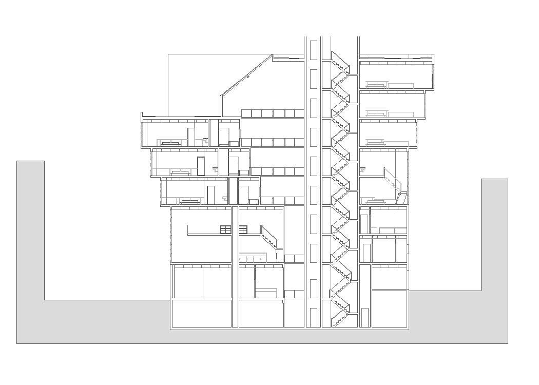 Lodge, Accommodation and Lodging Hotel 2D DWG Plan for