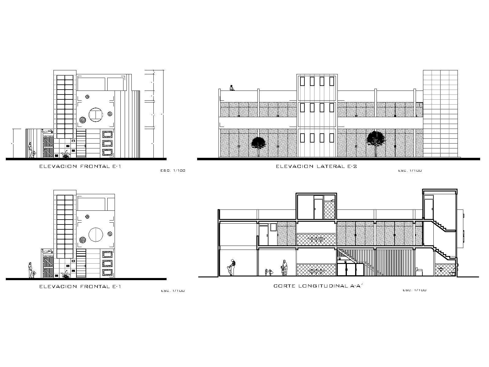 Nursery Infantile School Pre School 2d Dwg Plan For