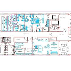 Kitchen Cabinet Warehouse Remodeling Ideas On A Small Budget Industrial Facilities 2d Dwg Plan For Autocad ...