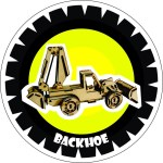 Backhoe Laser Cut PDF File