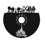 Laser Cut Walt Disney Vinyl Clock Template Free Vector
