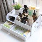 Laser Cut Cosmetic Storage Box Cosmetic Box Shelf Free Vector