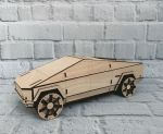 Laser Cut Tesla Cybertruck 3mm Free Vector