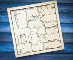 Laser Cut Animals Puzzle For Kids Free Vector